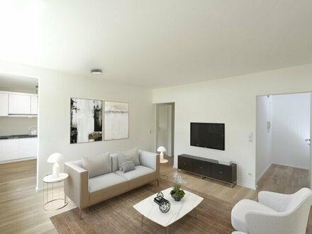 Modern & zentral: Kernsanierte 3,5-Zimmer-Wohnung mit Sonnenbalkon in Bestlage Herrnau