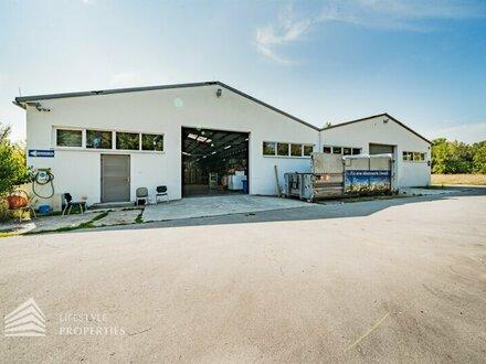5,5% Rendite! Beeindruckende Lager-und Industrieimmobilie mit großem Weiterentwicklungspotenzial! Nähe Flughafen Wien