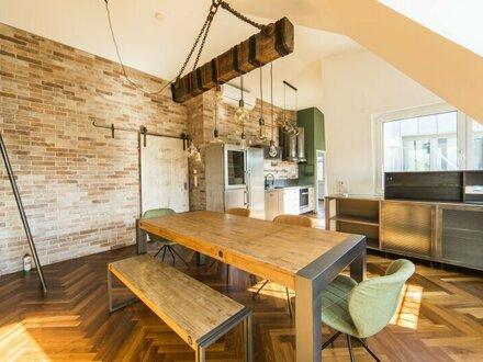 """Hochwertig ausgestattetes Apartment im """"Loft-Look"""" mit Terrasse in 1050 Wien zu vermieten"""