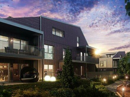 Gießhübl, günstige 2 Zimmer Wohnung mit schönem Blick, exklusives und ökologisch nachhaltiges Wohnhausprojekt