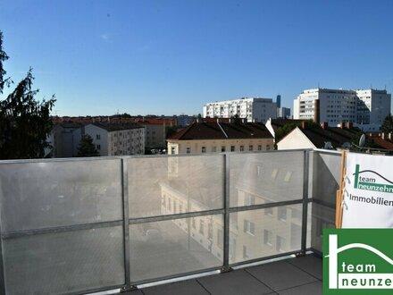 NÄHE U1! AB SOFORT BEZIEHBAR! Charmanter ca. 56 m2 Neubau mit ca. 9 m2 Terrasse - Fußbodenheizung!