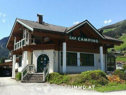 Campingplatz mit Hauptgebäude und Nebengebäuden in Wald im Pinzgau zu verkaufen