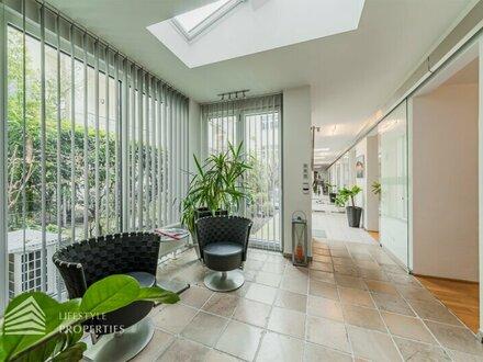 U3 Zieglergasse: 7-Zimmer-Büro mit Garten