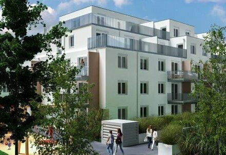Erstbezug 2-Zimmer-Neubauwohnung inkl Garten und Terrasse, Komplettküche und Kellerabteil /ALF50-48