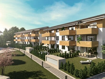 Für Jungfamilien: 3 Zimmer Wohnung mit Garten