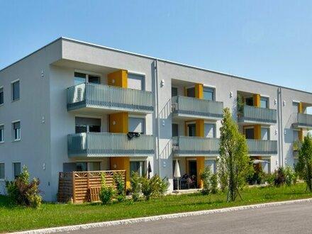 Neubauprojekt in Zell an der Pram, 2-Zimmer-MIETKAUFwohnung Top 2 mit Gartenanteil