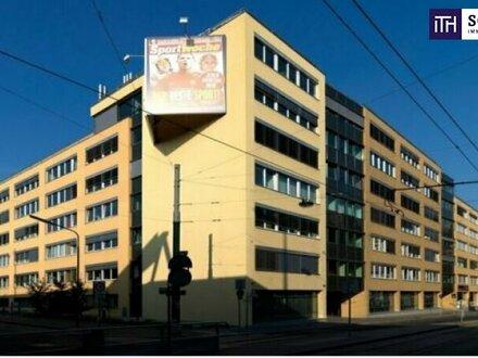 Dieses moderne Bürogebäude wartet auf Ihre individuelle Gestaltung für vielseitige Nutzung. Direkt an einem pulsierende…