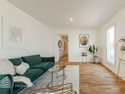 Moderne 2-Zimmer DG-Wohnung mit großer Terrasse, Nähe Hubert-Marischka-Park