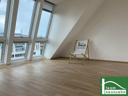 ANLAGE! Helle Erstbezug Dachgeschosswohnungen mit Terrassen und Wienblick in Zentrumsnähe