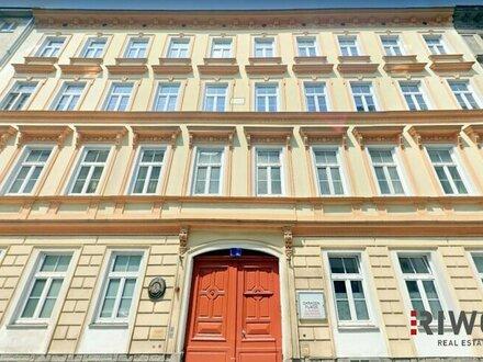 Herrschaftliche Altbauwohnung neben Schloss Belvedere (WG geeignet)