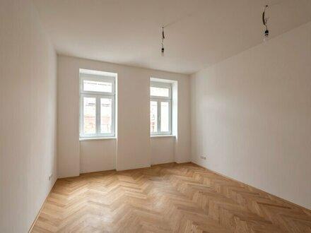 ++NEU++ Generalsanierte 2-Zimmer ALTBAUwohnung mit fantastischem Balkon/Loggia!