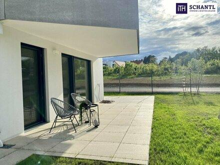 Spüren Sie die Qualität! Ihre Gartenwohnung mit drei Zimmer und bester Ausstattung!
