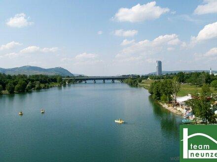 Provisionsfreie 4-Zimmer Neubauwohnungen zum Vermieten ab 630.000,-- Euro! Donau! Nähe U1!