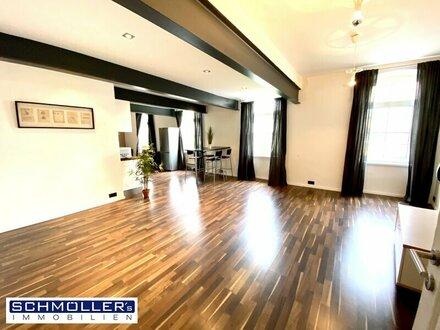 Innenstadt-Wohntraum mit Ambiente und viel Platz
