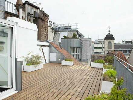Bezaubernde 4-Zimmer Dachgeschoss-Wohnung mit wunderschöner Dachterrasse!