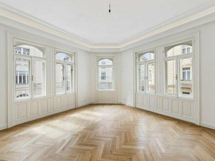 Historische Beletage-Wohnung mit Blick auf Otto Wagners Postsparkasse