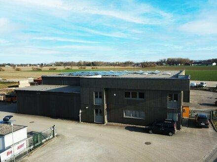Standortwechsel: Betriebsliegenschaft in Mauthausen + 13 Kfz-Freistellplätze