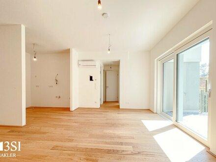 La Belle Vie: Exklusive 2 Zimmer Neubauwohnung mit Balkon und Grünblick