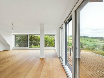 Exklusives PENTHOUSE auf 1 Wohnebene mit Dachterrasse in den Wiener Weinbergen