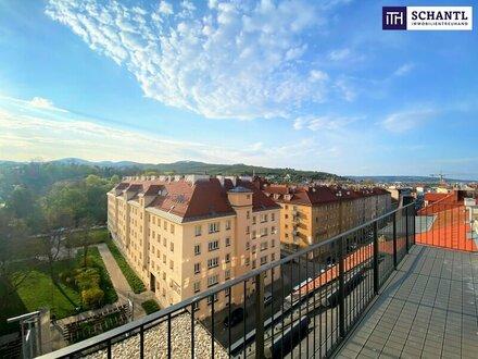 Urlaub auf der eigenen Dachterrasse: Penthouse + 5-Zimmer-Wohnung + 130 m² Terrassenflächen + Traumhafter Blick + perfe…
