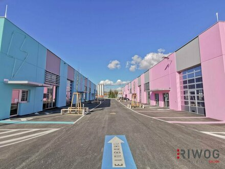 Geschäftsviertel mit modernen Geschäftslokalen, Ausstellungsflächen und Büros!