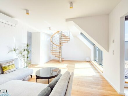Traumhafte Penthouse-Wohnung mit großer Dachterrasse und unbezahlbarem Ausblick!