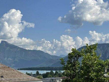 2-Zimmer-Wohnung mit Ruhe, Sonne und Seeblick Mondsee - Alltag und Urlaub zugleich!