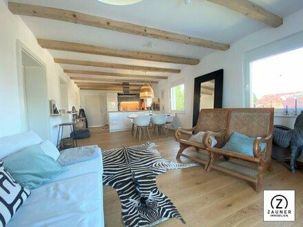 3-Zi.-Neubau-Wohnung mit XL-Terrasse u. Gartenanteil in St. Georgen/Attg.