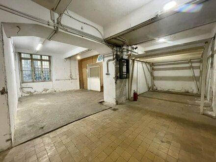 Großflächiges Souterrainlager, 300 m² mit direktem Straßenzugang mitten in 1070 Wien
