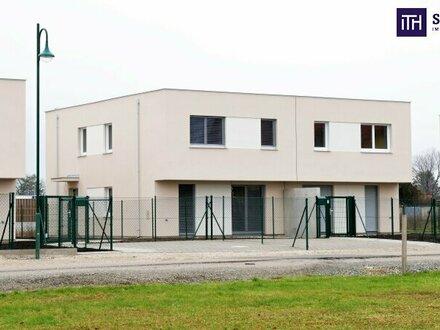 Worauf warten? Ideal aufgeteilte 4-Zimmer Doppelhaushälfte mit idyllischem Eigengarten in Wien-Nähe mit Top-Infrastrukt…