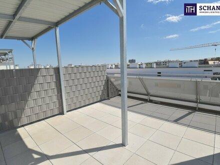 """""""DER MARKHOF"""" - Welche herrliche Dachterrasse!Drei-Zimmer-Erstbezug mit zwei Terrassen!!!"""