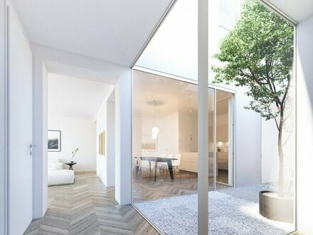 Exklusiver Neubau: Stilvolle Atrium-Wohnung in der Salzburger Altstadt