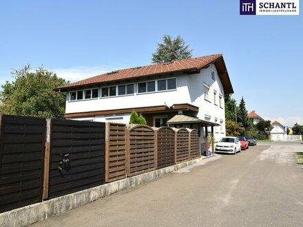 FAMILIEN-IDYLLE! Mit 554 m² Grundstück + 312 m² Nutzfläche (inkl. Keller) auf 3 Etagen! Mit riesigem Garten - INKLUSIVE…