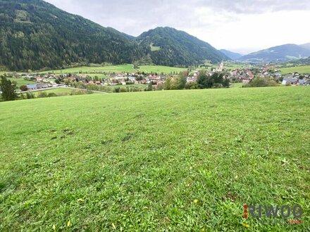 Grundstück mit Tal-Panoramablick zur Entwicklung