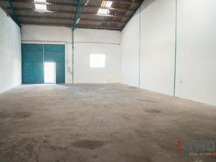 Ebenerdige Kaltlagerhalle mit 200m²