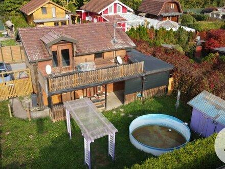 *Attraktives Kleingartenhaus auf einem 250m2 Pachtgrund*