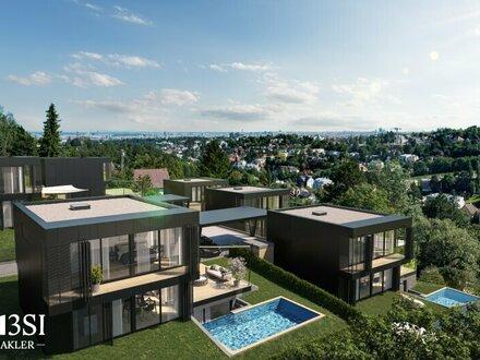 THE UNIQUE: Luxus Gartenvilla mit Pool & Sauna in absoluter Ruhelage