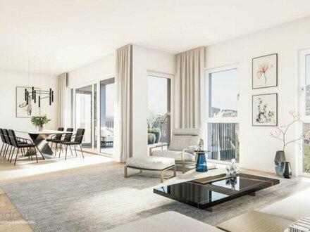 Neubauprojekt Salzburg, Josefiau: Geräumige 4-Zimmerwohnung mit zwei Balkonen