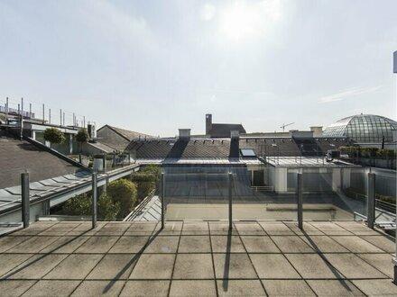 WUNDERSCHÖNE DG-Wohnung mit zauberhafter Dachterrasse in der Wiener Innenstadt zu vermieten!