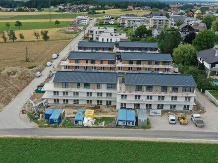 55 m² Neubau-Gartenwohnung mit 2 Parkplätzen