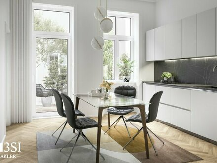 Park View: Hochwertig sanierte 2-Zimmerwohnung mit Loggia in Toplage Wiens