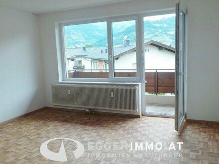 5700 Zell am See / Schüttdorf: AB JULI 2 - Zimmer Mietwohnung mit Balkon und Parkplatz zu vermieten