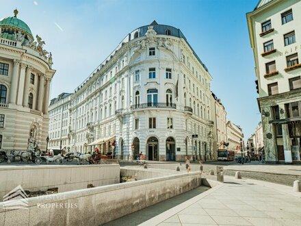 Imposante Verkaufsfläche in bester Lage der Wiener Innenstadt, Nähe Kohlmarkt