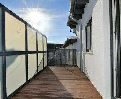 Bezugsfertig! Willkommen Zuhause! Einzigartige 4-Zimmerwohnung mit großer Terrasse!