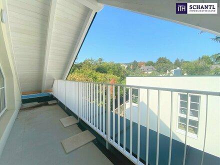 Rarität! Loftartiger Dachgeschoßtraum + gemütliche Terrasse + perfekte Lage + revitalisierte Villa!