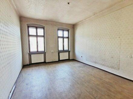 ++VIDEOBESICHTIGUNG++ Renovierungsbedürftige 5-Zimmer ALTBAUwohnung in aufstrebender Lage!