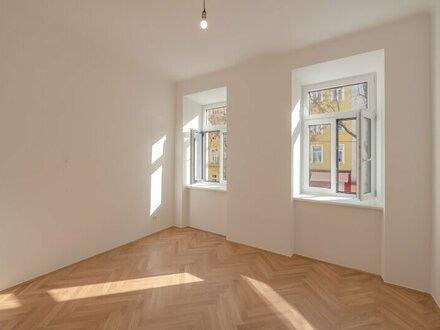 ++Projekt TG 17++ Perfekt geschnittener 3-Zimmer ALTBAU-ERSTBEZUG mit 7m² Balkon, umfassend saniertes PROJEKT!