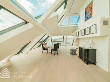Luxuriöse 5-Zimmer-Dachterrassenwohnung Nähe Stephansplatz