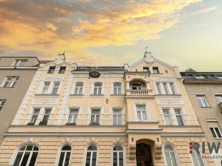 Luxus 4 Zimmer Altbauwohnung mit Balkon am Gersthof