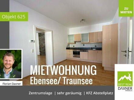 Geräumige und zentral gelegene Mietwohnung in Ebensee am Traunsee